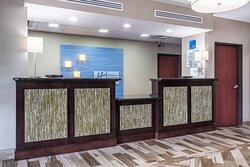 Holiday Inn Express & Suites Roanoke Rapids SE Front Desk