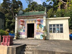Man Ma Temple near the start of the Olympic Trail at the Mui Wo  end