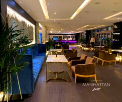 MANHATTAN Lounge is a new premier destination for you and your friends to spend your time. The Cozyness, high quality service, cocktails and great food.