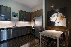 One-Bedroom King Suite - Kitchen
