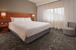 King Suite – Sleeping Area