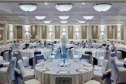 Dorchester Suite - Wedding Reception Setup