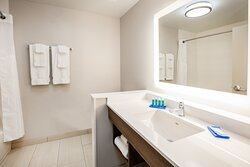 Relax in our spacious bathrooms