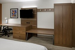 Unwind in your room while you watch your favorite TV show
