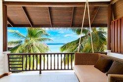 Beachfront Deluxe Guest Room Upper Floor Patio