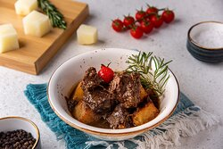 Veal meat Kabab Halla with Potato