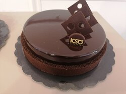 Semifreddo al cioccolato fondente