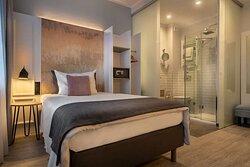 Comfort single room Hotel Franke jpg
