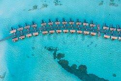 OZEN LIFE MAADHOO - Aerial View Wind Villas