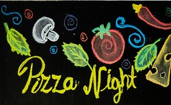 Every Friday after 6pm, our pizza is thin crust Italian style