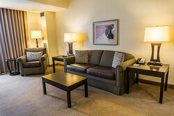 Kick back in our large suites!
