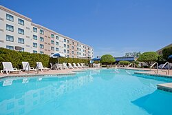 Take a Refreshing dip in our Outdoor Pool