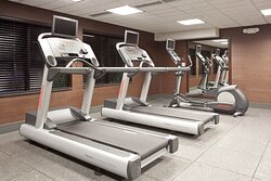Fitness Center in the Holiday Inn Express & Suites Moab