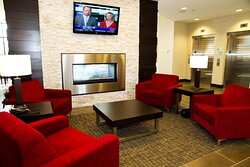 Enjoy and relax in the hotel lobby with free Wi-Fi.