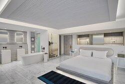 Junior Suite Outdoor Hot Tub bedroom