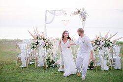 Wedding at Sunset Garden