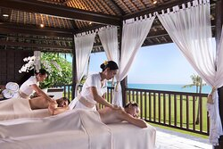 Spa treatment at the bale