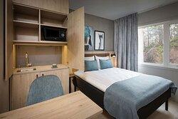 Scandic Kokstad room long term stay