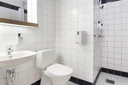 New Scandic Karasjok Karasjok budget room bathroom