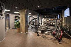 Fitness room full view