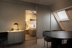Scandic Victoria Lillehammer Room Master Suite Bed Meeting