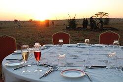 Taita Hills Safari Resort & Spa -Bush Dining