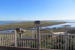 Observation tower. Aransas National Wildlife Refuge, Austwell, TX .  Dec 2020