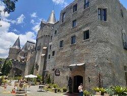 Parte externa do Castelo