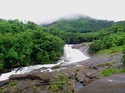 Adyanpara Water Falls Beautiful waterfall, suitable for trekking Adyan Para, 10 Kms. away from Nilambur is fast emerging as a main tourist center. Adyanpara water falls is just 23 KMs away from Malabar Heritage.