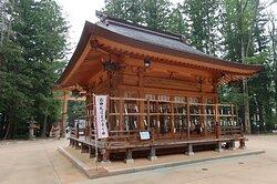 穂高神社神楽殿