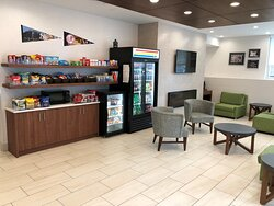 Take advantage of our 24 hour snack shop