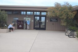 Visitor Center, you will a lot of thins as well.