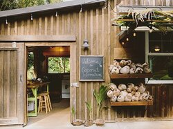 Our farm stand & outdoor kitchen / classroom.