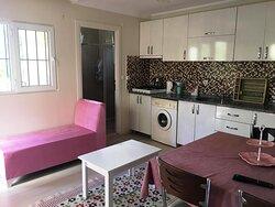 açık mutfak salon