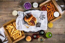 burger z našeho Delivery menu