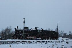 Памятник паровозу Эр 788-81