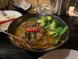 Special Beef Rendang.