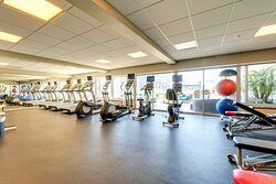 Get in a great workout in our fitness center in downtown San Fran.
