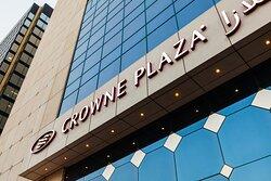 The elegant five-star Crowne Plaza® Abu Dhabi