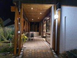 Restaurant Casa Carmelina - Terasssen Ansicht