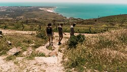 Amazing views in our coastal hike tour!