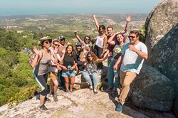 Cheer at the top of the mountain in our Mountain Hike tour!