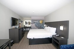 King Room.  Modern Amenities and refreshed look.