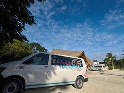 Providing private transfer services to & from Cenotes Casa Tortuga Tulum