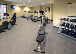 Our Raleigh-Durham hotel with fitness center is idealy equipped.