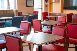 Enjoy free hot deluxe breakfast in our newly renovated dining area
