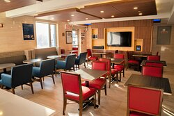 Enjoy TV while you dine on our free hot deluxe breakfast
