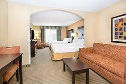 Holiday Inn Express Lexington Nebraska Two Queen Bed Suite