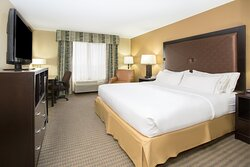 Holiday Inn Express, Lexington, NE One room One King Bed suite
