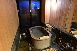 In-room Onsen bath